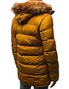 Мужская  зимняя куртка с капюшоном №4 Синий, фото 7