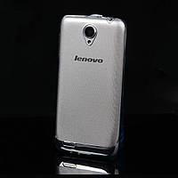 Чехол силиконовый ультратонкий для Lenovo S650 прозрачный