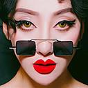 Солнцезащитные очки квадрат цветной Желтый, фото 7