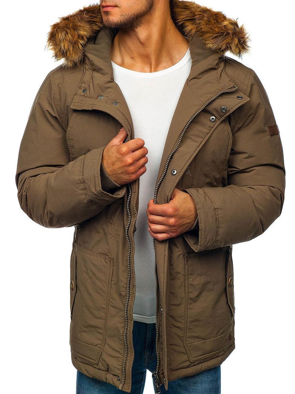 Мужская зимняя парковая куртка