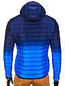 Мужская  молодёжная стёганая куртка Синий, фото 5