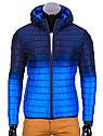Мужская  молодёжная стёганая куртка Камуфляж оранжевый, фото 6