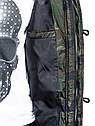 Мужская зимняя парка  камуфляж Зеленый, фото 7