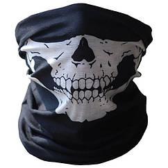 Бафф маска с рисунком черепа (Челюсть) 1, Унисекс