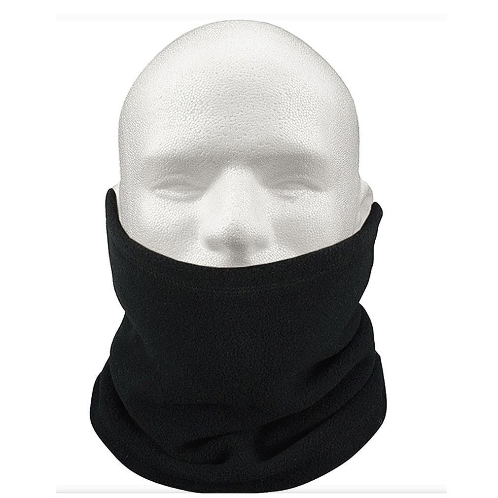Бафф маска флис с затяжкой и фиксатором 1, Унисекс