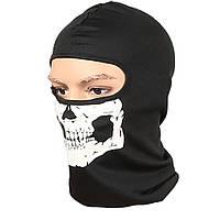 Балаклава маска с рисунком черепа (Челюсть) 1, Унисекс