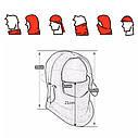Балаклава маска флис с затяжкой и фиксатором 1, Унисекс, фото 9