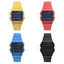Силиконовые наручные часы, Красный 1, Унисекс, фото 2