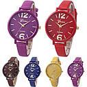 Женские наручные часы Geneva, Желтый 1, фото 2