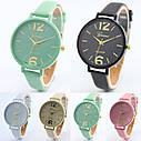 Женские наручные часы Geneva, Желтый 1, фото 3