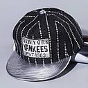 Детская кепка снепбек Yankees с прямым козырьком, Унисекс, фото 2