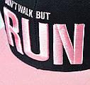 Детская кепка снепбек RUN с прямым козырьком, Унисекс, фото 2