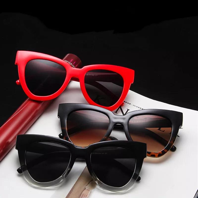 Солнцезащитные очки в стиле кошачий глаз