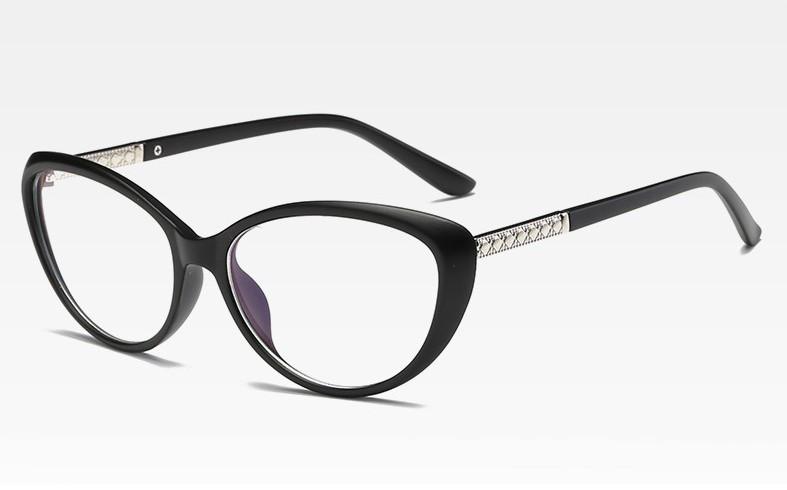 Имиджевые очки кошачий глаз уценка