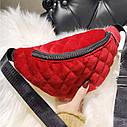 Классическая женская сумка бананка 1, фото 3