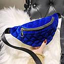 Классическая женская сумка бананка 1, фото 4