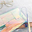 Прозрачная женская сумка конверт на пояс 1, фото 4