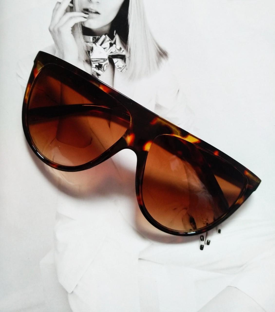 "Солнцезащитные очки в стиле Селин ""Сeline"" №4 Леопард"