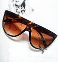 """Солнцезащитные очки в стиле Селин """"Сeline"""" №4 Леопард, фото 4"""