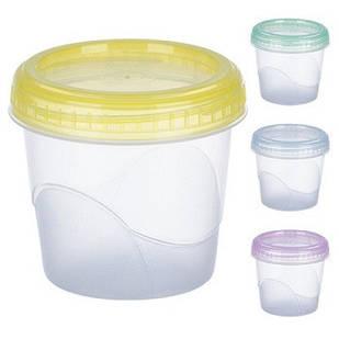 Контейнер пластиковый для пищевых продуктов 0,350 мл. круглый арт. PT-83474