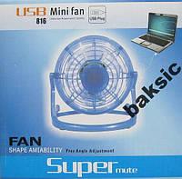 Настольный USB вентилятор, фото 1