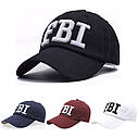 Кепка бейсболка FBI (ФБР) Чорна, Унісекс, фото 2