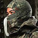 Балаклава маска (Ниндзя 2) Черная, Унисекс, фото 3
