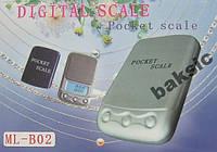Ювелирные весы ML-B02 до 100 (0,01) с чехлом, фото 1