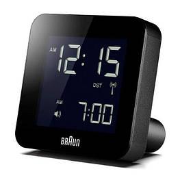 Цифровой будильник Braun BNC009BK-RC часы кварцевый