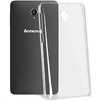 Чехол силиконовый Ультратонкий для Lenovo S860 прозрачный