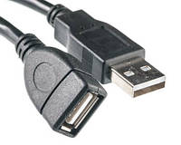 Кaбeль PowerPlant USB 2.0 AF – AM, 0.1м