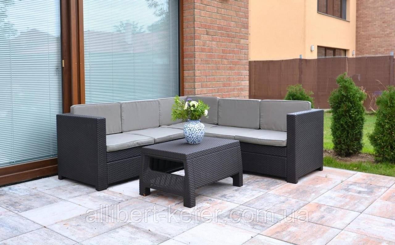 Provence Set садовая мебель из искусственного ротанга