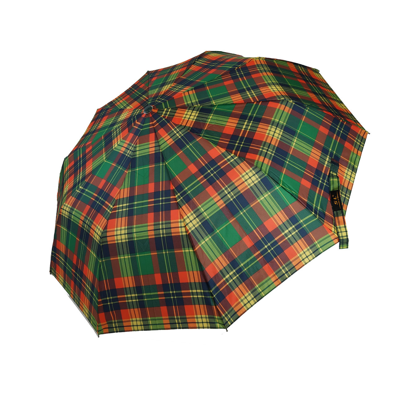 Зонт полуавтомат SL Сell в клетку Разноцветный (475-4)