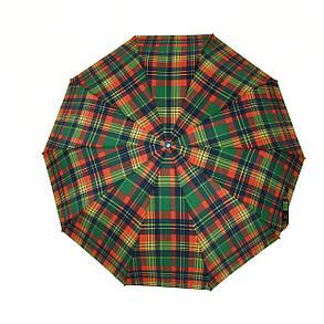 Зонт полуавтомат SL Сell в клетку Разноцветный (475-4), фото 2