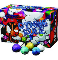 Дымные шарики 6 выстрелов микс цветов DYMNE KULE MA0508 Фитиль