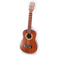 Гитара акустическая коричневая Укулеле