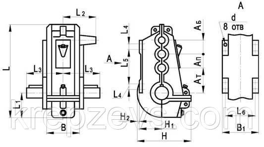 купить вертикальный редуктор ВКУ-750М в Украине