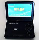 """Портативний ДВД з вбудованим цифровим телебаченням Т2 DVD плеєр Opera NS-998 9,5"""" + багато ігор, фото 2"""
