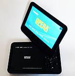 """Портативний ДВД з вбудованим цифровим телебаченням Т2 DVD плеєр Opera NS-998 9,5"""" + багато ігор, фото 3"""