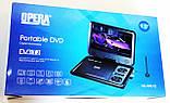 """Портативний ДВД з вбудованим цифровим телебаченням Т2 DVD плеєр Opera NS-998 9,5"""" + багато ігор, фото 9"""