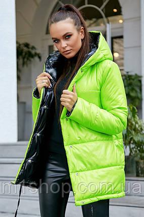 Женская утепленная двусторонняя куртка (3684-3683-3686-3689-3687-3692 svt), фото 2