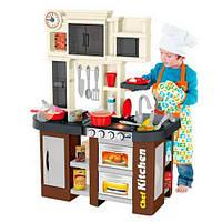 Кухня детская звуковая с холодильником,с крана течет вода 922-102,высота 84 см