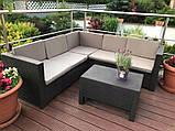 Allibert Provence Set садові меблі з штучного ротанга, фото 6
