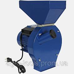 Зернодробилка ДТЗ КР-02Т (2,5 кВт 200кг/час, зерно + початки кукурузы)