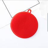 Губка Силікон для миття посуду, фото 2