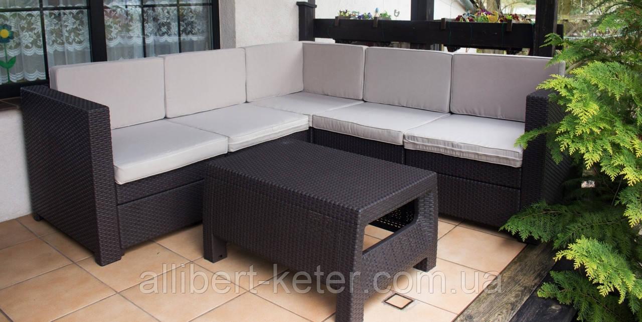 Keter Provence Set садовая мебель из искусственного ротанга