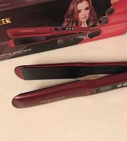Профессиональный Утюжок гофре с регулятором температуры для волос PRO MOZER MZ-7050A
