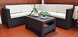 Keter Provence Set садовая мебель из искусственного ротанга, фото 3