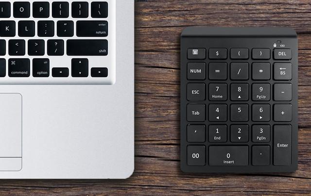 Клавиатура цифроваябеспроводная bluetooth 28 клавиш