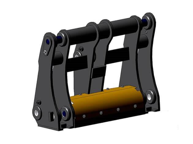 Квик-каплер Гидравлический БСМ Impulse QL 40